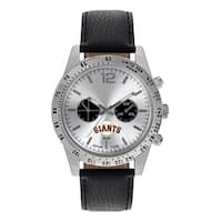 San Francisco Giants MLB Letterman Men's Watch