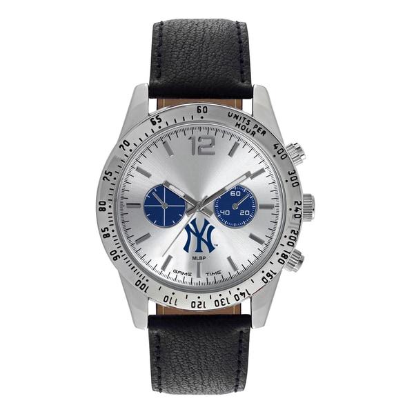 New York Yankees MLB Letterman Men's Watch