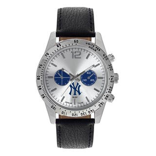 New York Yankees MLB Letterman Men's Watch|https://ak1.ostkcdn.com/images/products/12137636/P18994061.jpg?impolicy=medium