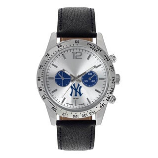 New York Yankees MLB Letterman Men's Watch