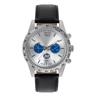 New York Mets MLB Letterman Men's Watch
