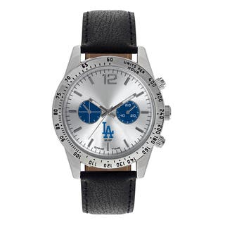 Los Angeles Dodgers MLB Letterman Men's Watch|https://ak1.ostkcdn.com/images/products/12137639/P18994063.jpg?impolicy=medium