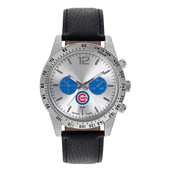 Chicago Cubs MLB Letterman Men's Watch
