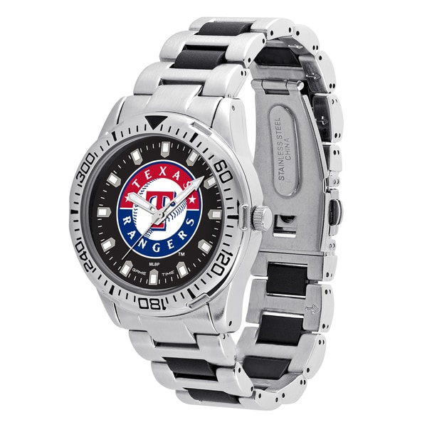 Texas Rangers MLB Heavy Hitter Men's Watch