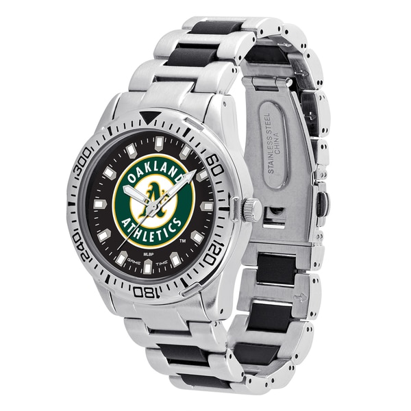 Oakland A'S MLB Heavy Hitter Men's Watch