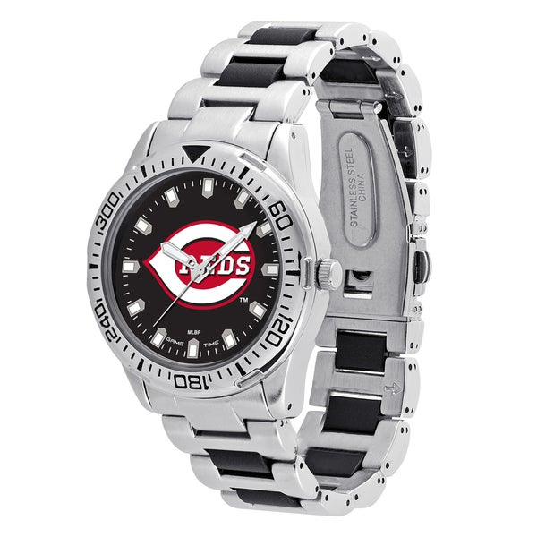 Cincinnati Reds MLB Heavy Hitter Men's Watch