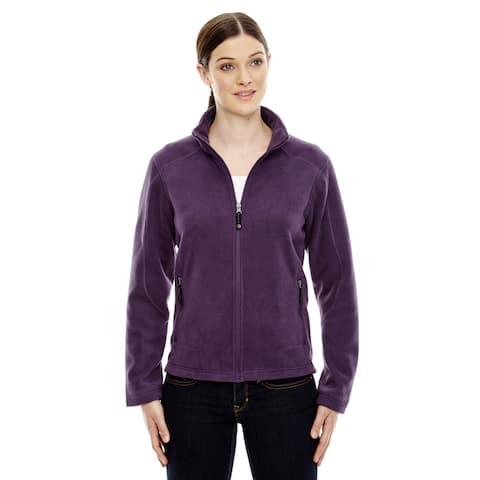 Voyage Women's 449 Mulbry Purple Polyester Fleece Jacket