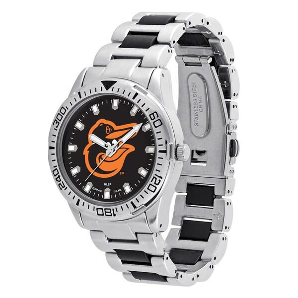Baltimore Orioles MLB Heavy Hitter Men's Watch