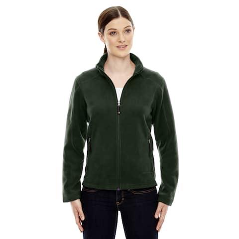 Voyage Women's 630 Forest Green Polyester Fleece Jacket