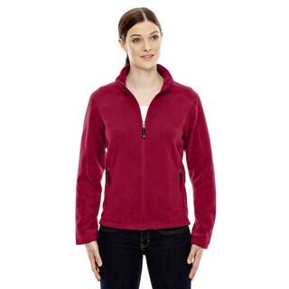 Voyage Women's Classic Red Fleece Jacket