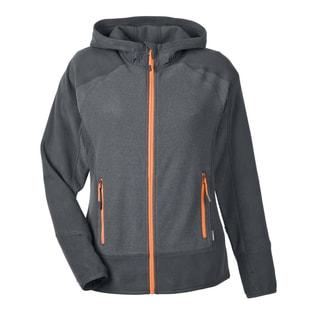 Vortex Women's 482 Polartec Carbon/Soda Polyester Active Fleece Jacket