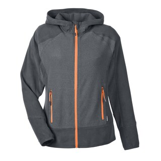 Vortex Women's 482 Polartec Carbon/Soda Polyester Active Fleece Jacket
