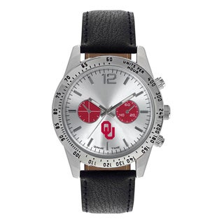Oklahoma Sooners NCAA Letterman Men's Watch