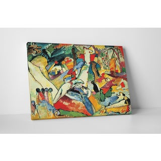 Wassily Kandinsky 'Composition II' Gallery-wrapped Canvas Wall Art