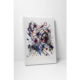 Wassily Kandinsky 'Vierte Bauhausmappe' Gallery Wrapped Canvas Wall Art