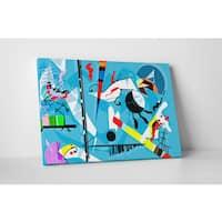 Wassily Kandinsky 'Miro Vackiero' Gallery Wrapped Canvas Wall Art