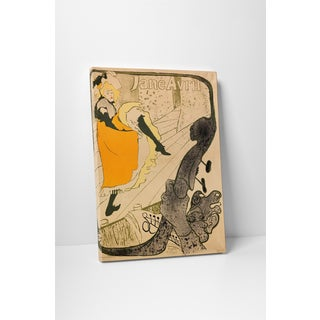 Classic Masters Henri de Toulouse-Lautrec 'Jane Avril' Gallery Wrapped Canvas Wall Art