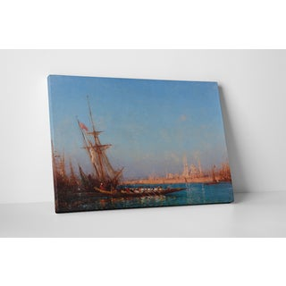 Classic Masters Felix Ziem 'View of Istanbul' Gallery-wrapped Canvas Wall Art