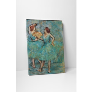 Classic Masters Edgar Degas 'Two Dancers' Gallery Wrapped Canvas Wall Art