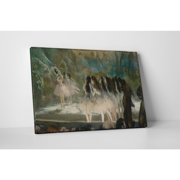 Classic Masters Degas Edgar 'Ballet at the Paris Opera' Gallery-wrapped Canvas Wall Art