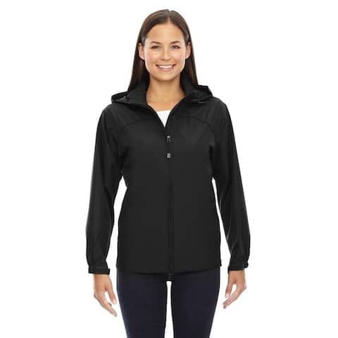 Techno Lite Women's Black Polyester Jacket