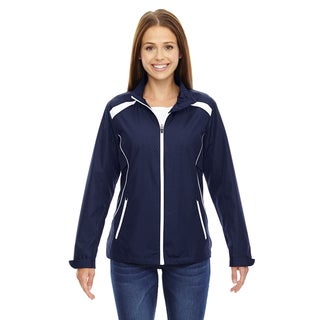 Tempo Women's Lightweight Recycled Polyester Jacket with Embossed Print Classic Navy 849