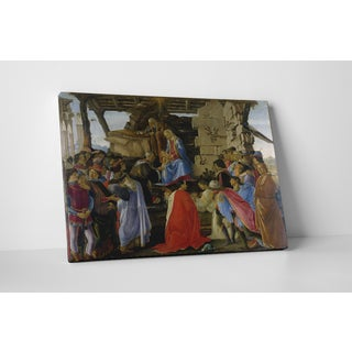 Classic Masters Sandro Botticelli 'Adoration Of The Magi' Gallery-wrapped Canvas Wall Art