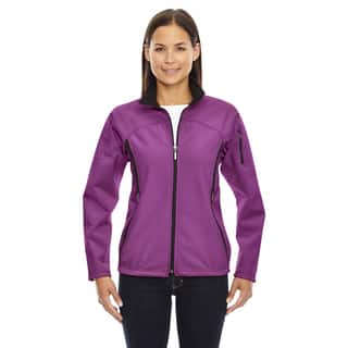 Women's 889 Plum Rose Polyester 3-layer Fleece Bonded Performance Soft Shell Jacket|https://ak1.ostkcdn.com/images/products/12137975/P18994510.jpg?impolicy=medium