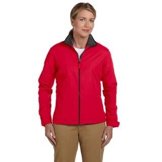 Women's Red Nylon 3-season Classic Jacket