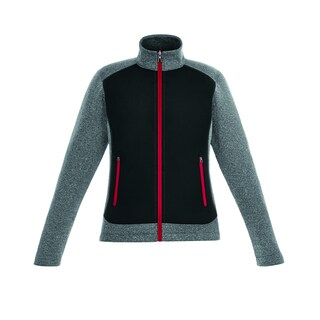Victory Women's 874 Black/Red Polyester/Fleece Hybrid Performance Jacket