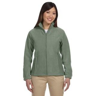 8-Ounce Women's Dill Full-Zip Fleece Jacket