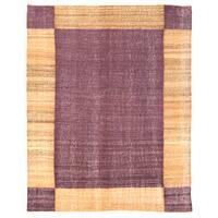 Herat Oriental Afghan Hand-woven Mimana Wool Kilim - 4'10 x 6'1