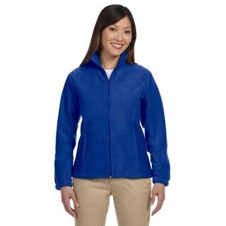 8-Ounce Women's True Royal Full-Zip Fleece Jacket