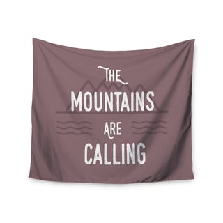 Kess InHouse Jackie Rose 'The Mountains Are Calling' 51x60-inch Wall Tapestry