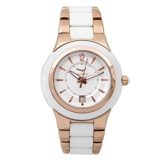 Aquaswiss Unisex 61M003 White/Rose Gold C91 M Watch