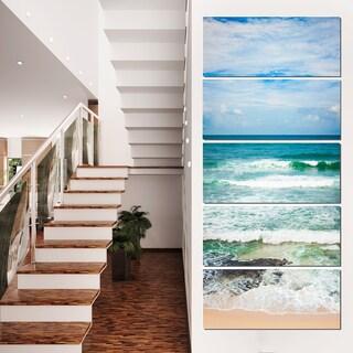 Indian Ocean - Seascape Photography Canvas Art Print