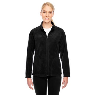 Campus Women's Black Microfleece Jacket