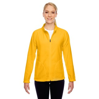 Campus Women's Gold Polyester Microfleece Jacket