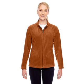 Campus Women's Burnt Orange Polyester Microfleece Sport Jacket