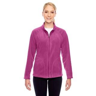 Campus Women's Pink Microfleece Sport Jacket