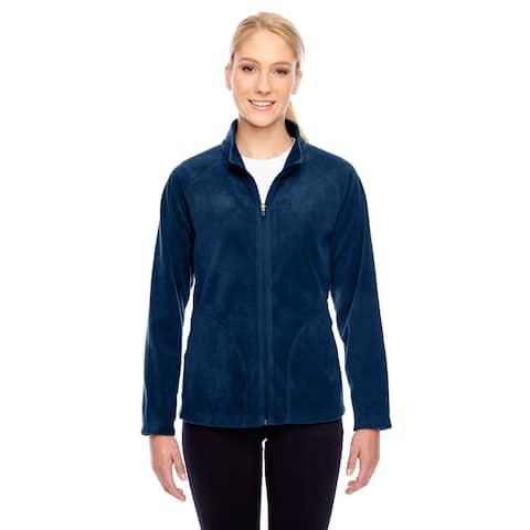 Campus Women's Dark Navy Microfleece Sport Jacket