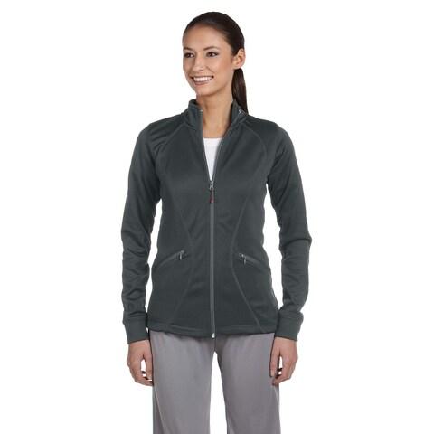 Tech Women's Fleece Full-zip Cadet Stealth Jacket