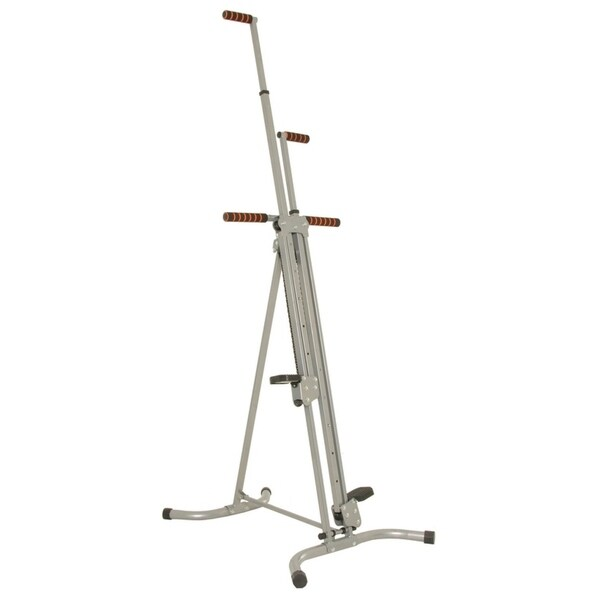 Conquer Vertical Climber Cardio Fitness Climbing Machine 2.0 - Silver