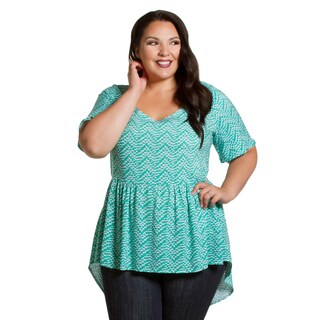 Sealed with a Kiss Women's Plus Size Sylvia Top