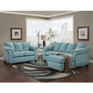 SOFA TRENDZ Cailyn 2 Piece Sofa/ Chaise Set