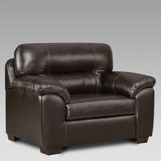 Sofa Trendz Corina Faux Leather Oversize Chair