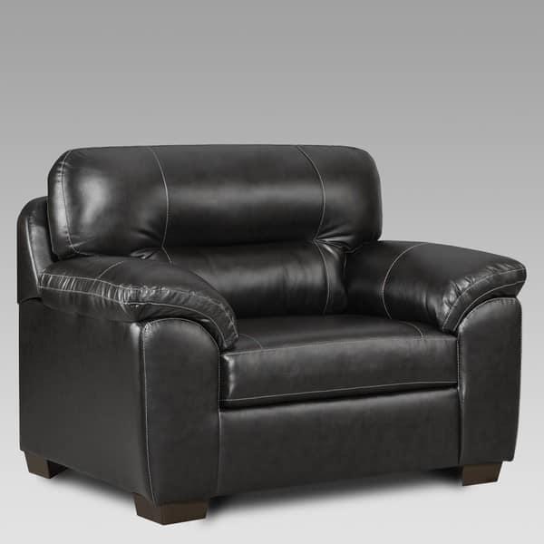 Phenomenal Shop Copper Grove Bergkamen Faux Leather Oversized Chair Inzonedesignstudio Interior Chair Design Inzonedesignstudiocom