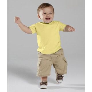Infant 4.5-ounce Butter Fine Jersey T-shirt