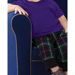 Infants' Purple Fine Cotton-blend Jersey T-shirt