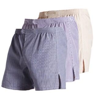 Jake Joseph Multicolor Cotton Trouser Boxers (Pack of 3)